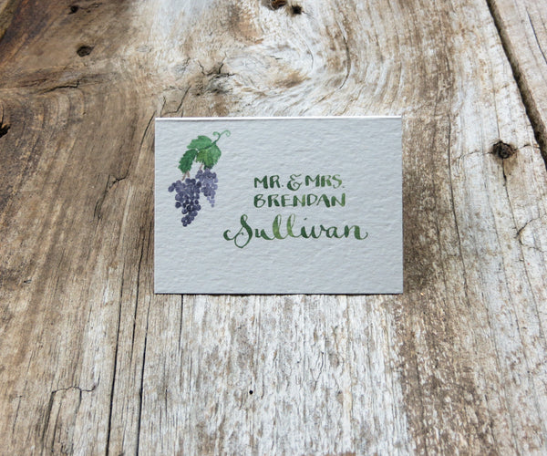 Vineyard Escort/Place Card