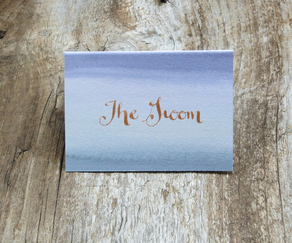 Alluring SeaSmoke Escort/Place Card