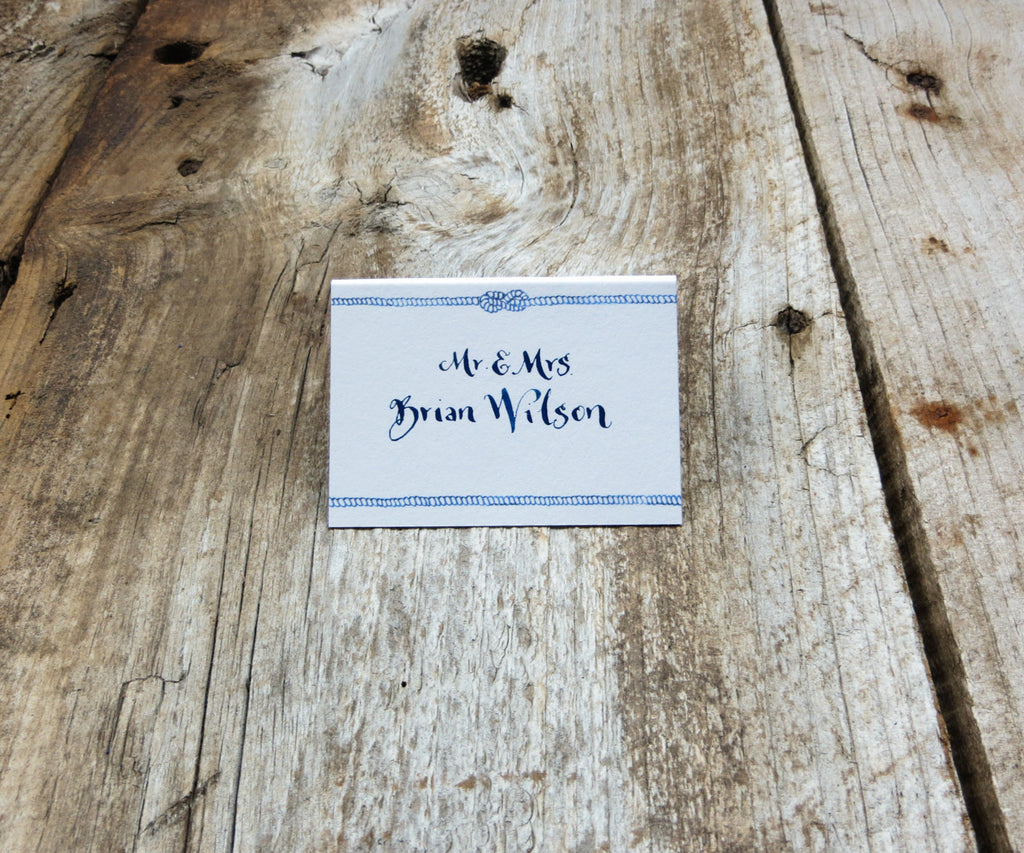 Chic Compass Escort/Place Card