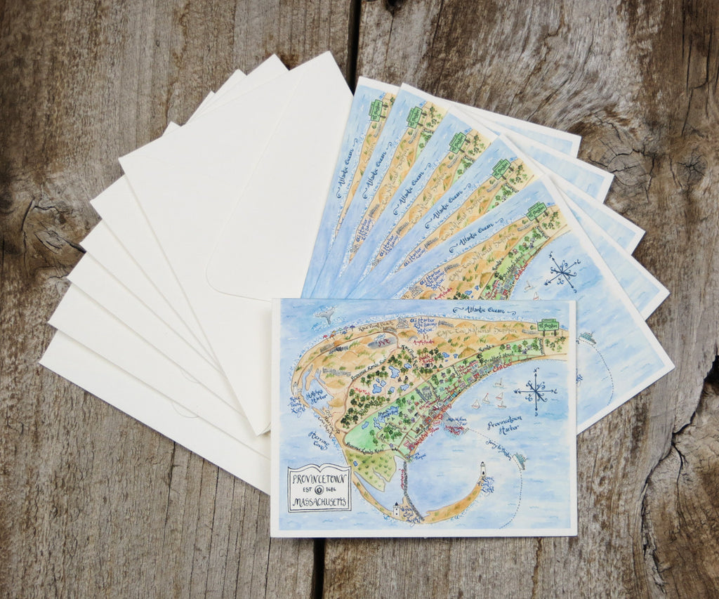 Provincetown, Massachusetts Note card