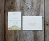 Maine Mountain Wedding Invitation
