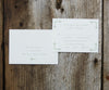 Vines Wedding Invitation