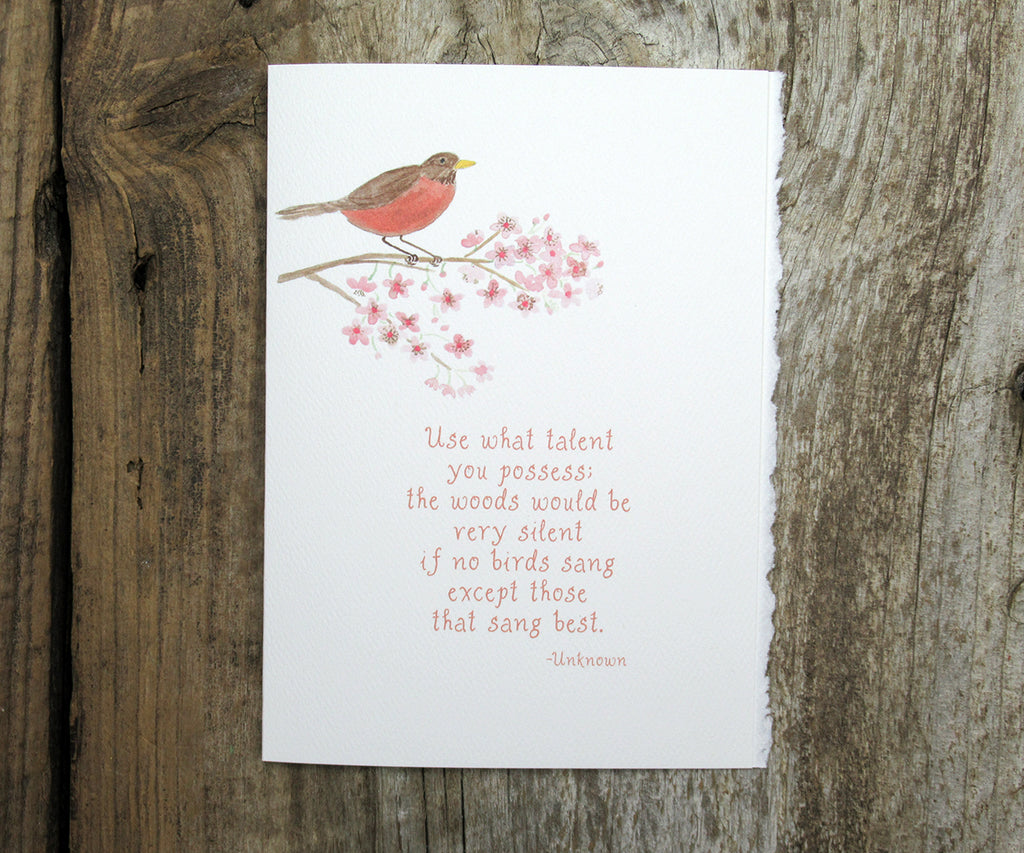 Robin Song Quote Card