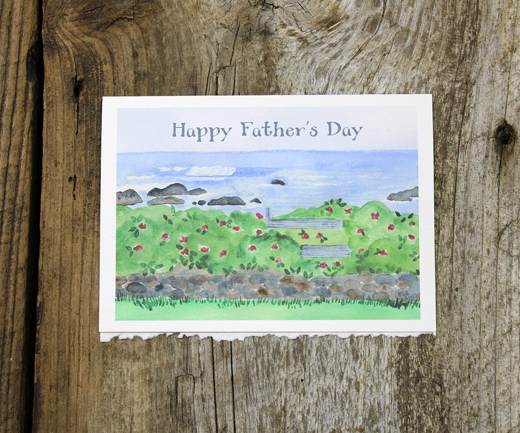 Scenic View Father's Day Card