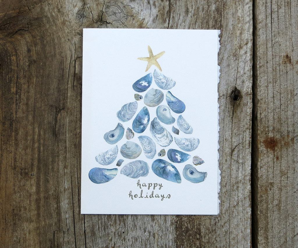 Shells Tree Card Sale
