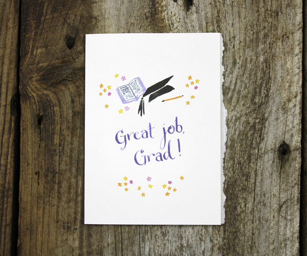 Superstar Graduation Card