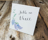 Spring Lilacs Table Signs