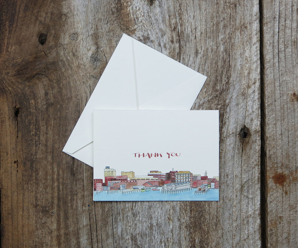 Portland Maine Thank You Notes