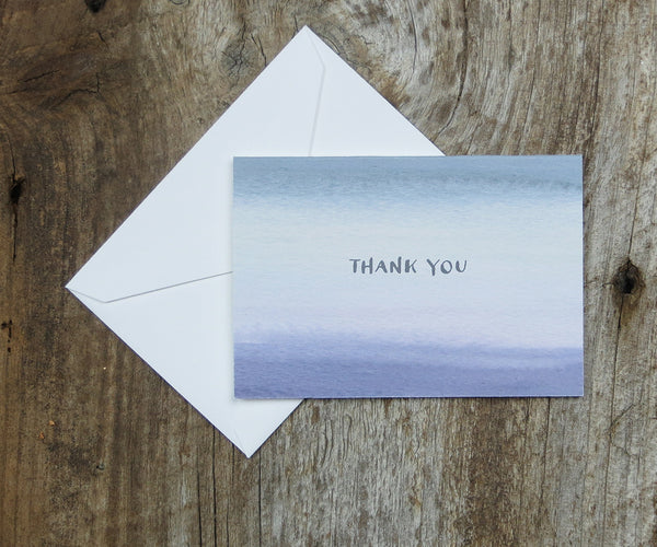 Alluring SeaSmoke Thank You Notes