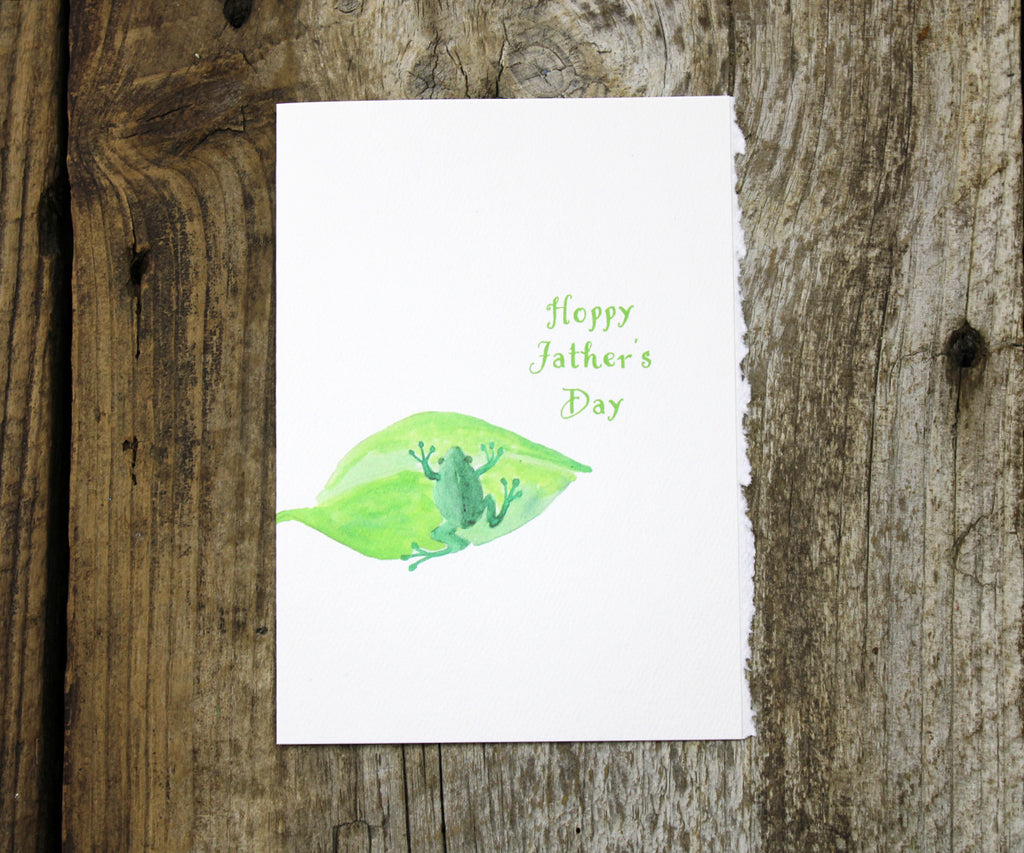 Tree Frog Father's Day Card