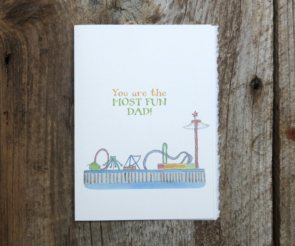 Most Fun Dad Card
