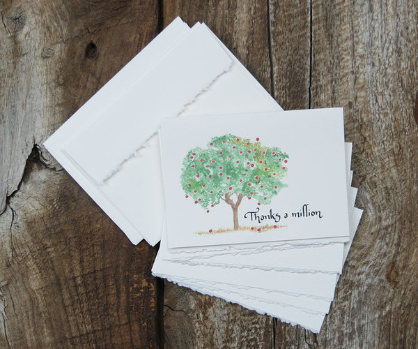 Apple Tree Thank You Notes