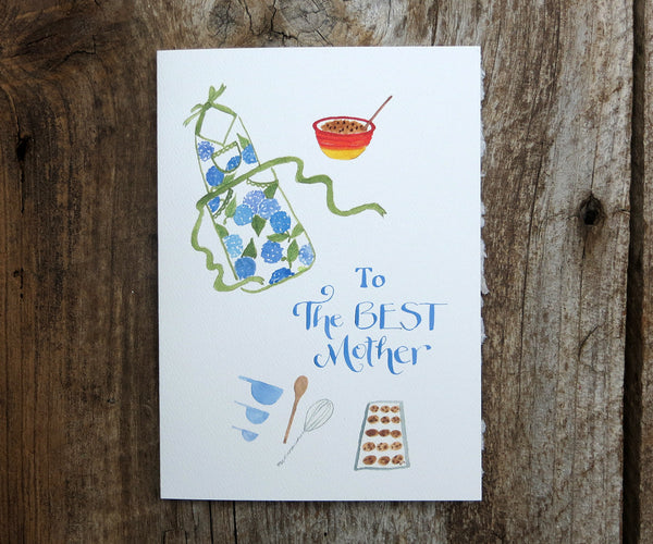 2017 NEW Baking Cookies Mother's Day Card