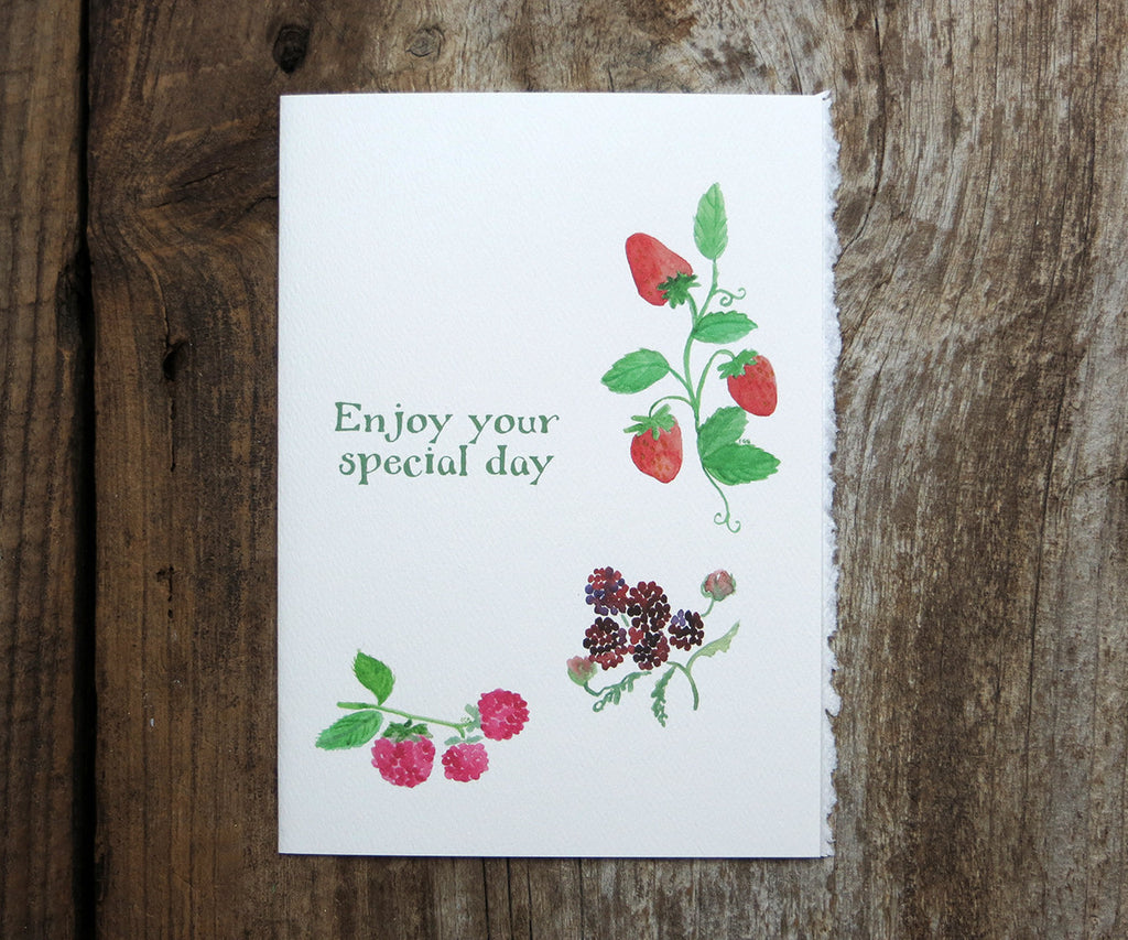 Berry Special Day Card