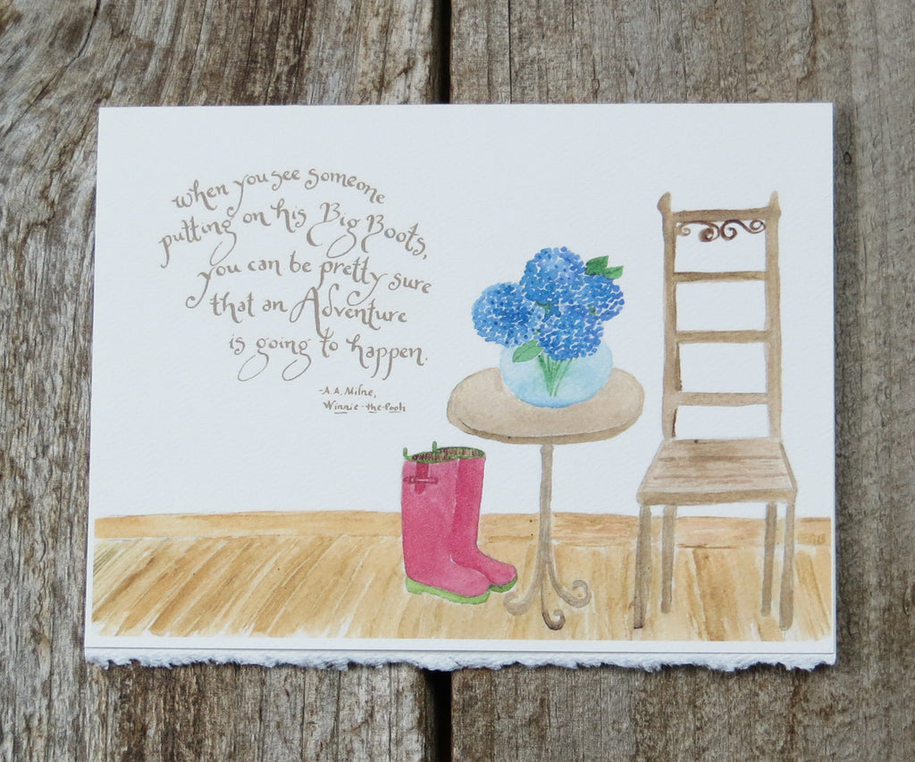 Big Boots Quote Card