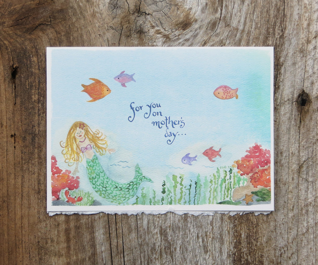 Mermaid Mother's Day Card