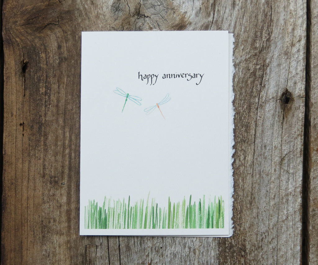 Anniversary Dragonfly Card