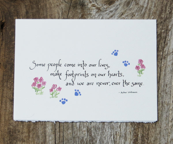 Cat Sympathy Pet Card