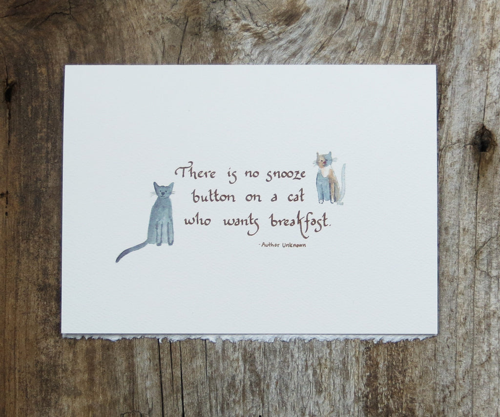 Cats Pet Card