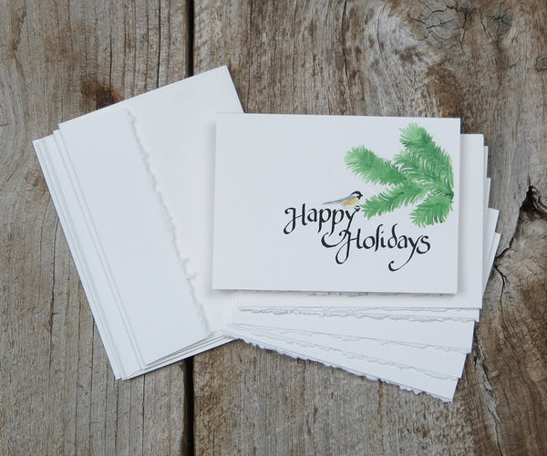 Chickadee Holiday Notes
