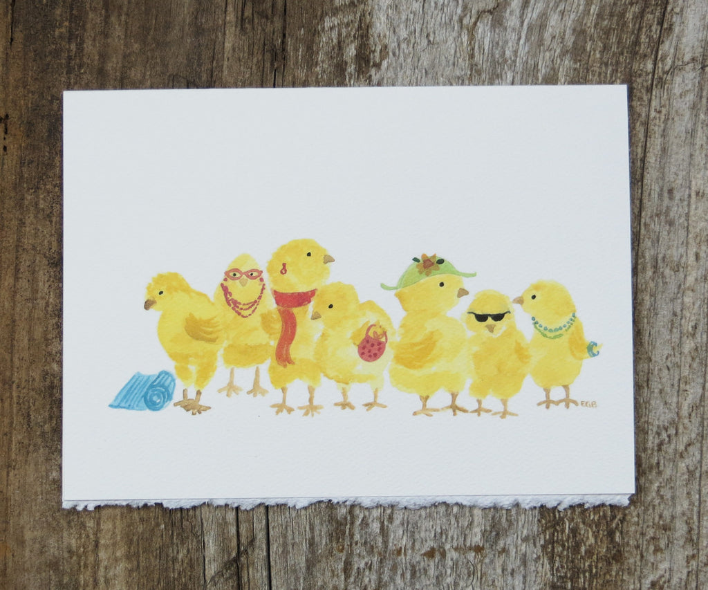 Chicks Card