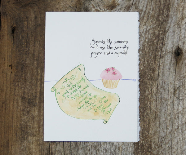Cupcake Recovery Card