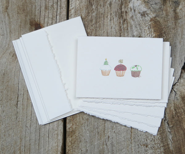 Cupcakes Holiday Notes