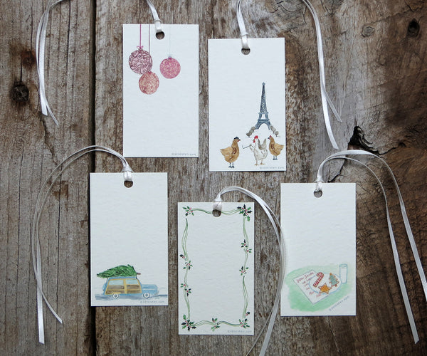 Delight Holiday Gift Tags