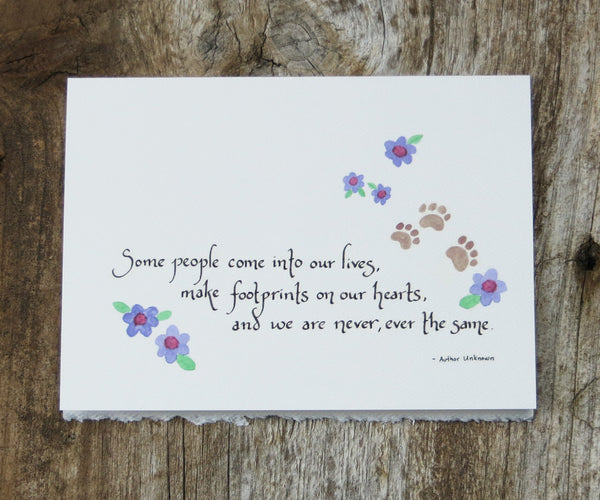 Dog Sympathy Pet Card