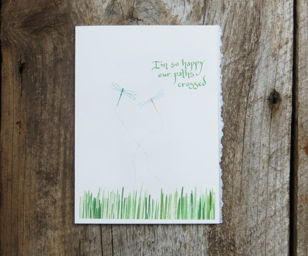 Dragonflies Friendship & Love Card