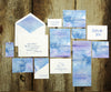 Watercolor Wash Wedding Invitation