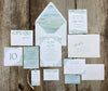 Sea Glass Escort/Place Card