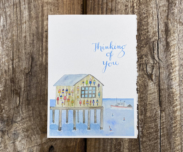Lobster hut father's day card