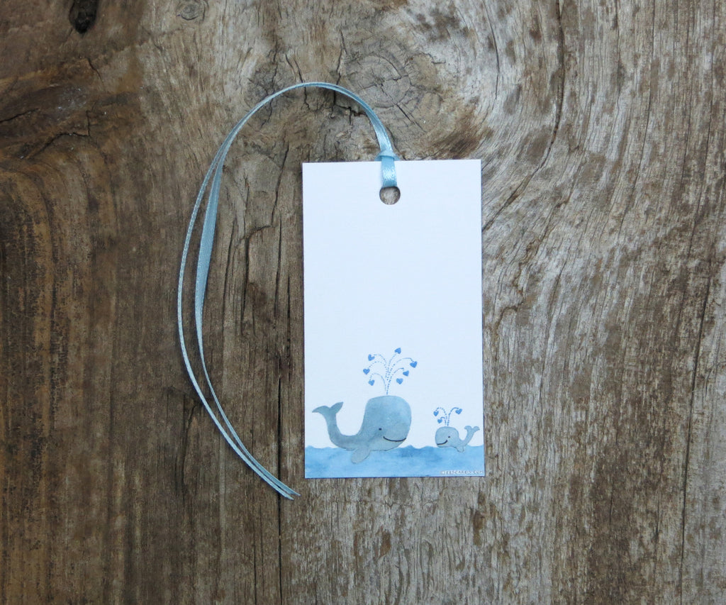 Blue Whale Gift Tags