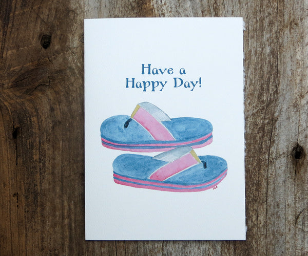 Flip Flops Mother's Day Card