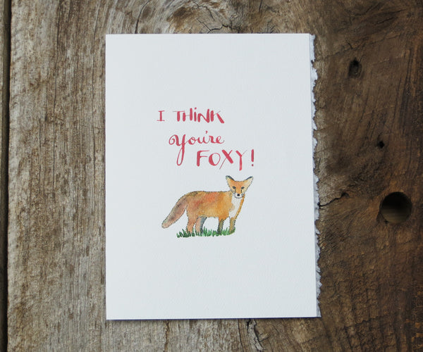 Fox Friendship & Love Card