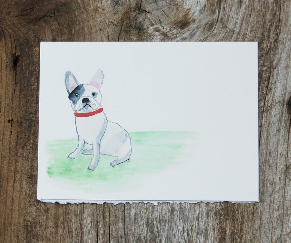 French Bulldog Pet Card