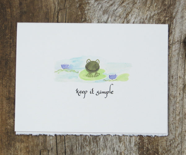 Froggy Recovery Card