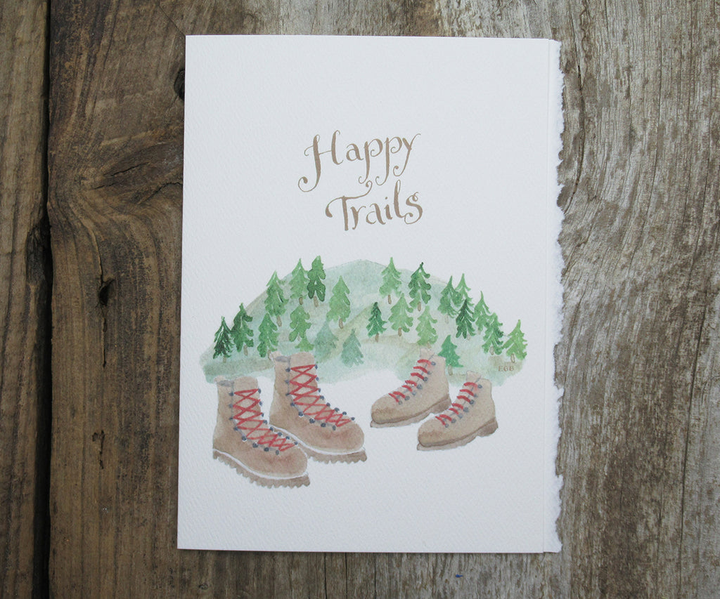 Happy Trails Hiking Card