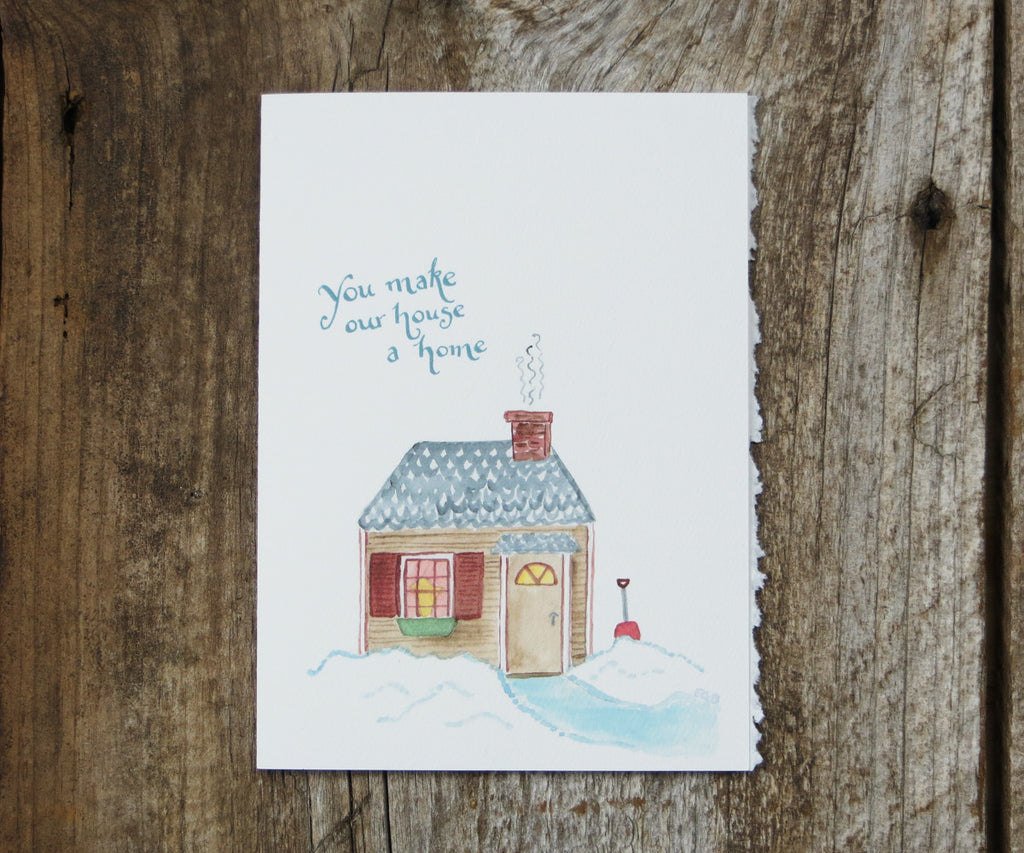 Home Sweet Home Valentines Card