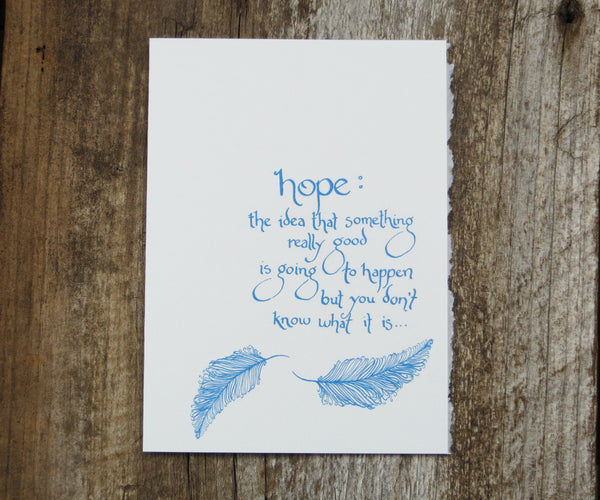 Hope Recovery Card