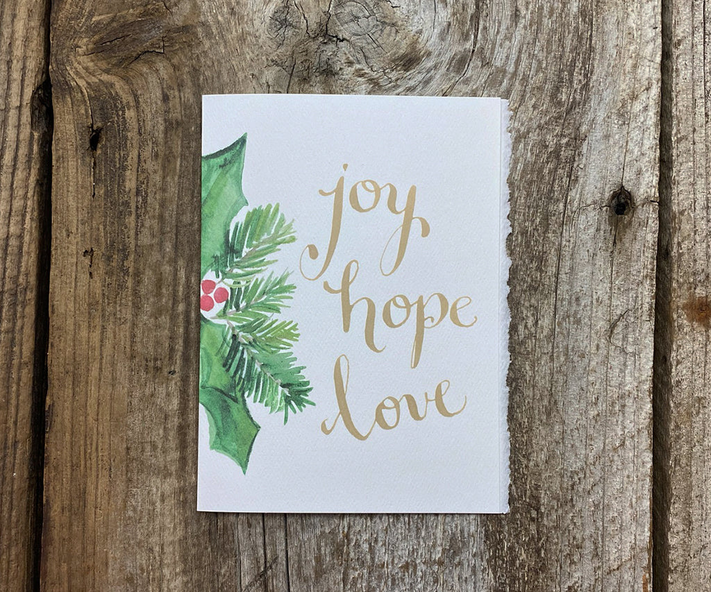 Inspiration Holiday Card