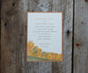 Chairlift Wedding Invitation