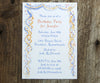 Confetti and Streamers Invitation