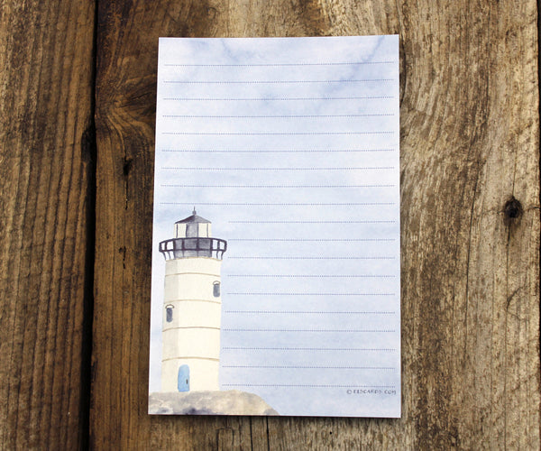 Lighthouse notepad