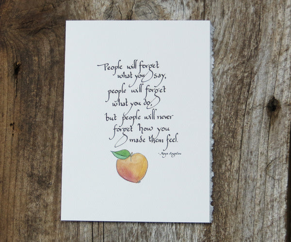 Maya Beach Quote Card