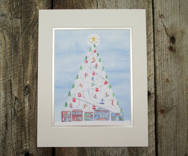 2019 NEW Mt. Christmas Print