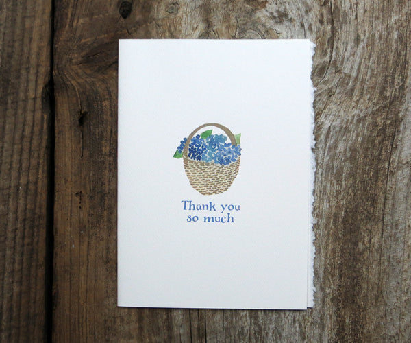 Nantucket Basket Thank You Card