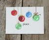 peach ornaments