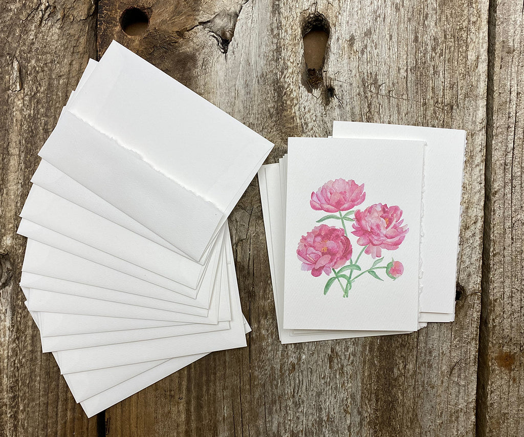 Peony bouquet notes